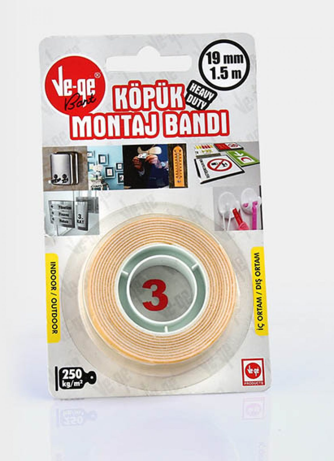 Double Sided Foam Mounting Tapes Heavy Duty